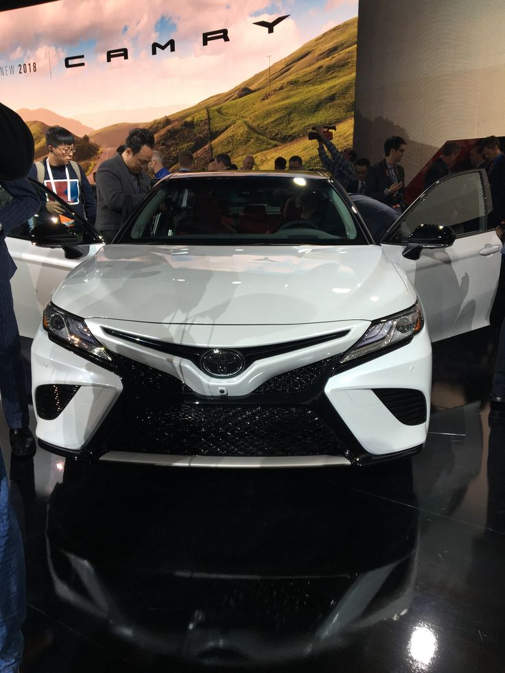 The All-New 2018 Toyota Camry