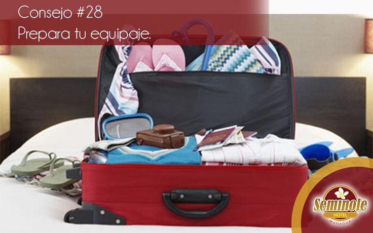 Haz una lista con todo lo que necesités para el viaje, así evitás llevar cosas que nadie utilizará.