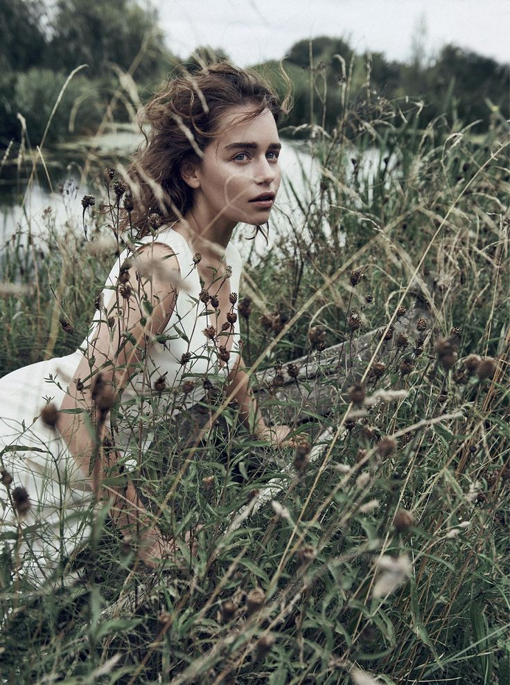 Emilia Clarke by Lachlan Bailey for Dior Magazine Winter 2015