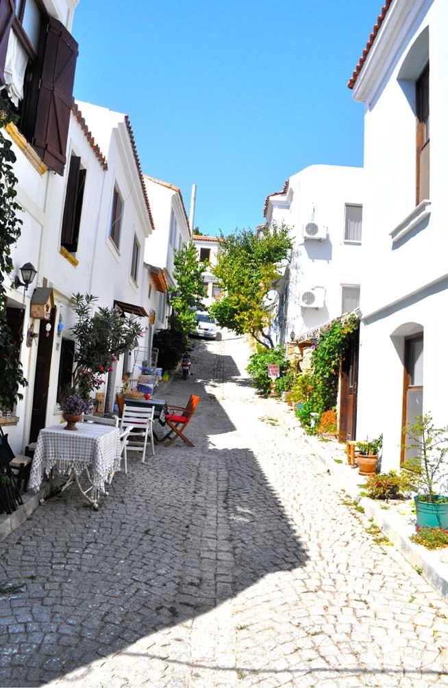 Bozcaada streets