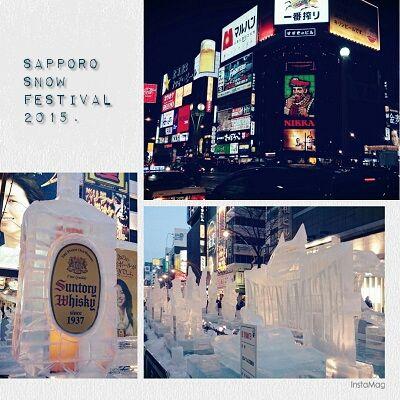 さっぽろ雪まつり2015 #札幌 #北海道 #雪まつり