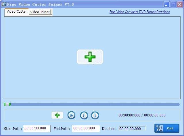 Free Video Cutter Joiner es un software para Windows, de apariencia básica, con el que podemos cortar y unir archivos de vídeo de distintos formatos.