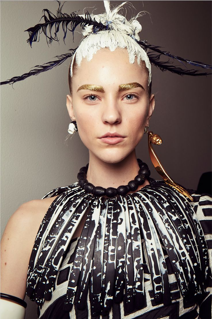 "Alan White Hair Stylist - Inspiration behind Romance Was Born ""Cooee Couture Fashion Week Show"""
