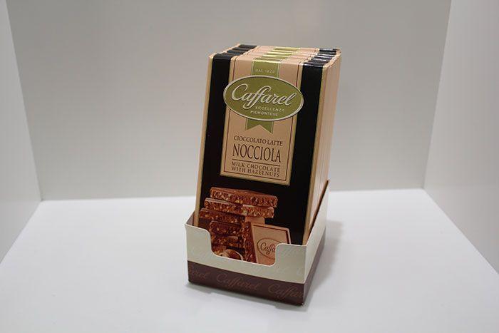 Tavoletta CIOCCOLATO AL LATTE E NOCCIOLA Caffarel - http://www.caffeciok.it/wp001_caffeciok_ecommerce/shop/tavolette-cioccolata/tavoletta-cioccolato-al-latte-e-nocciola-caffarel/