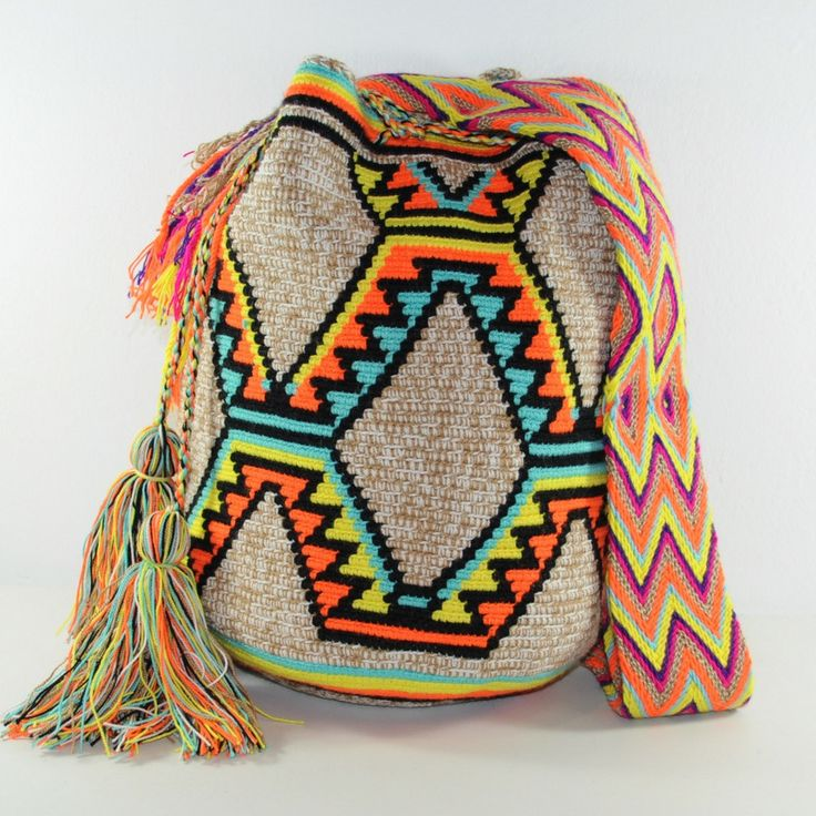 Wayuu bag with 15% discount until midnight today #mochila #wayuu #wayuubags