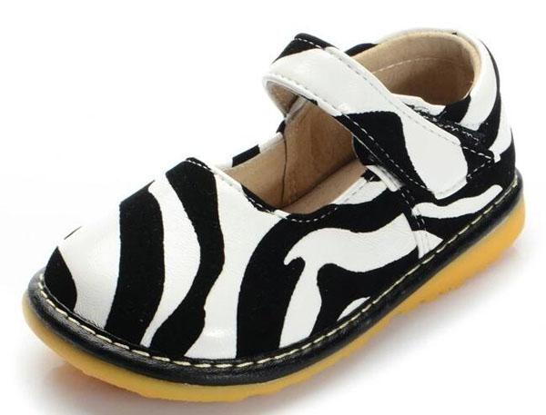 Girls Toddler Zebra Print Shoes   Zebra