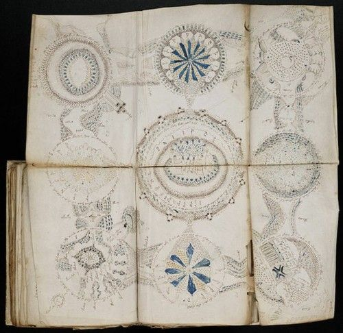 "The Voynich manuscript is a handwritten book thought to have been written between 1404-1438. Although many possible authors have been proposed, the author, script, and language remain unknown. It has been described as ""the world's most mysterious manuscript"""