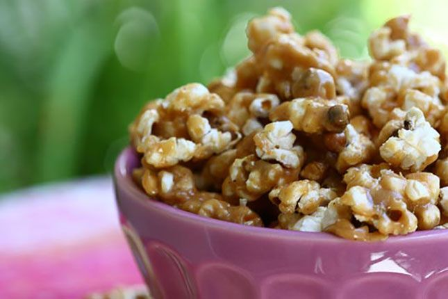 Who knew peanut butter and popcorn were such a killer combo?