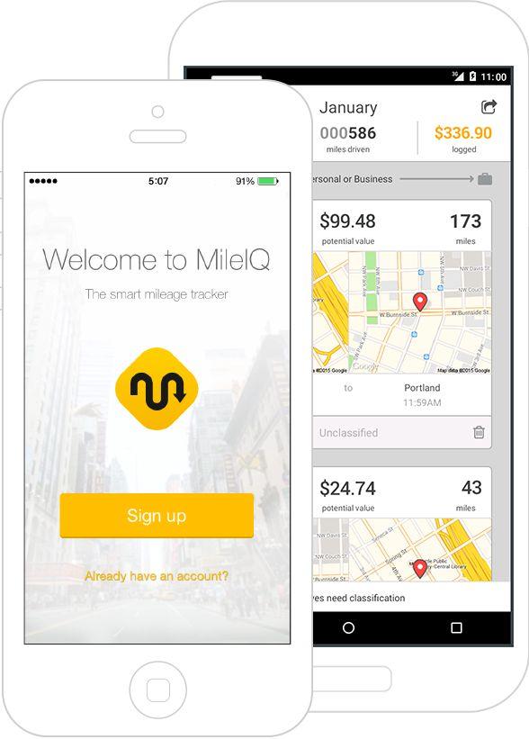 Mileage Tracking App | Automatic, Easy, Smart Mileage Log | MileIQ