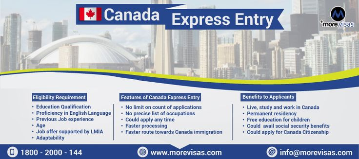 #Canada #ExpressEntry System, Faster Way to #Immigrate to #Canada. Read More...https://www.morevisas.com/canada-immigration/canada-express-entry-system-faster-way-to-immigrate-to-canada/