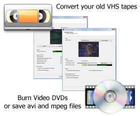 how to use vhs to dvd converter