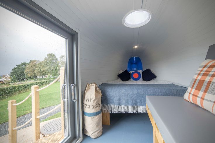 Royal Navy Helicopter Hotel | HiConsumption