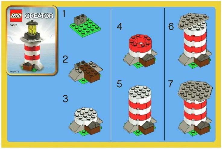 LEGO Instructions - large collection of manuals, great reference when orginals get damaged or misplaced