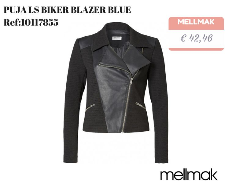 MELLMAK.COM Conheça todas as novidades da estação na Mellmak PUJA LS BIKER BLAZER BLUE Ref:10117855 http://www.mellmak.com/pt/loja/102996-puja-ls-biker-blazer-blue-detail.html € 42,46