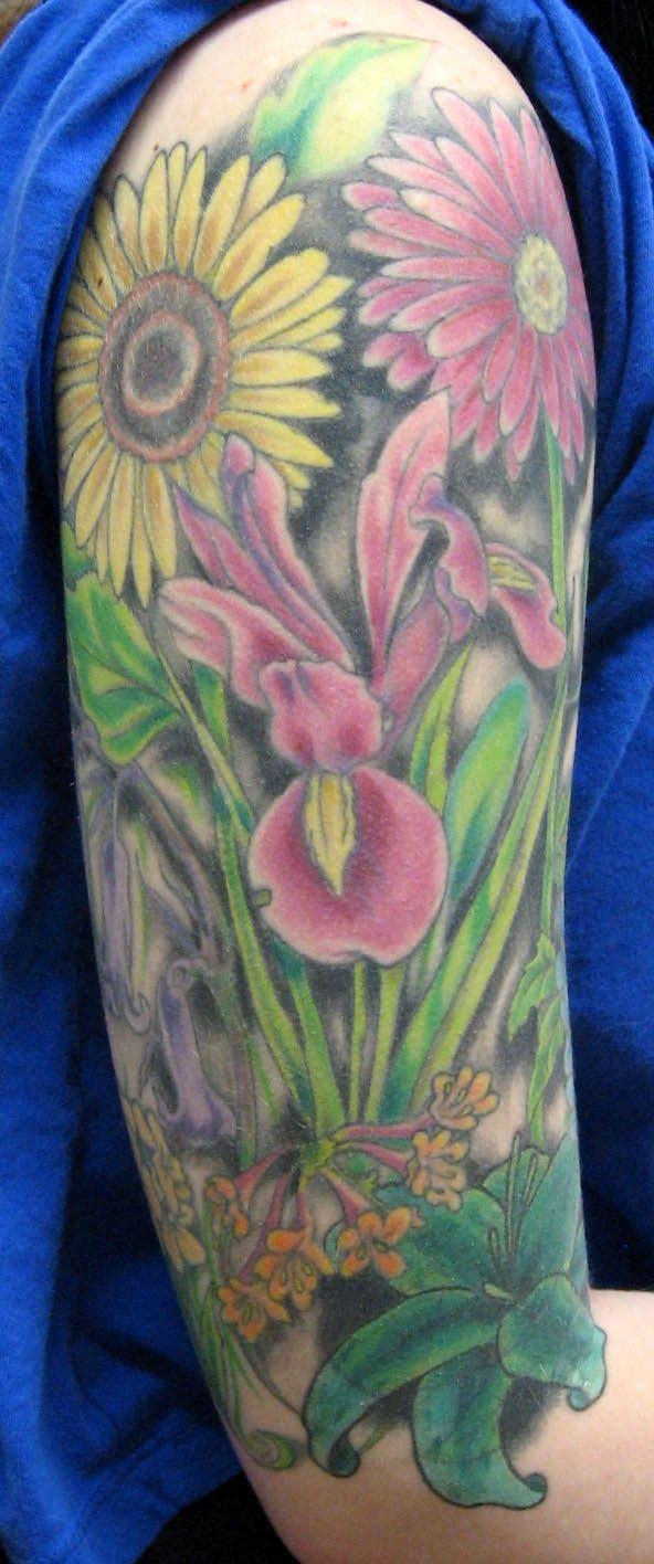 48 best gardening tattoo images on pinterest garden tattoo ideas and time tattoos for Garden of eden tattoo