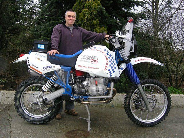 GS Rally bike