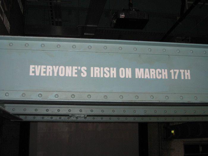 Am 17.3. ist jeder Ire!