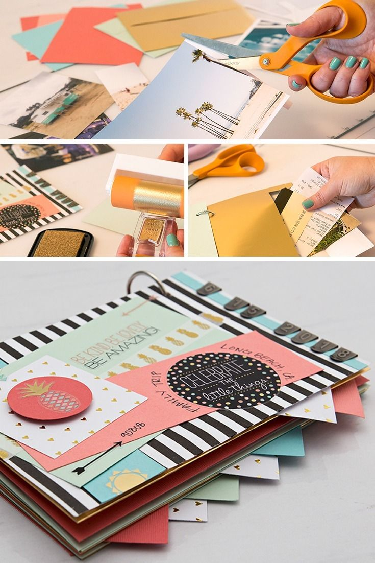 Commemorate all of your summer adventures with an adorable scrapbook! Check out Hobby Lobby's diy tips for beginners here.