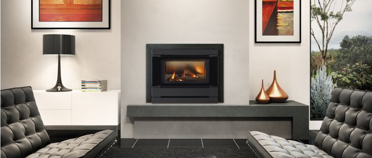 Available in black or metallic platinum, the Fitzroy neatly fits into existing gas or oil heater cavities, giving you a fuss-free upgrade with minimal labour and expense.