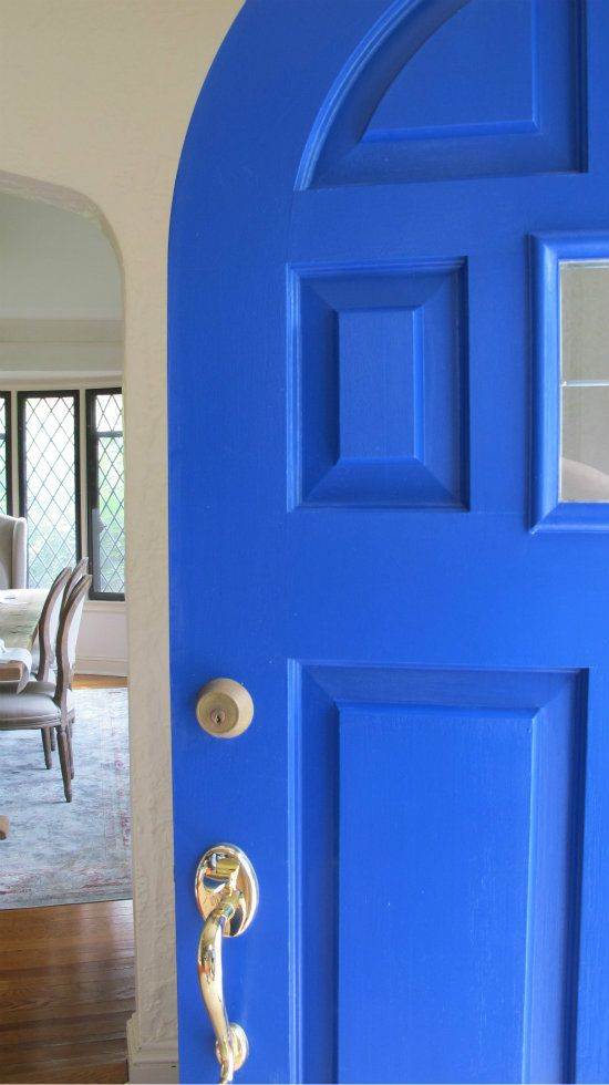 1000 ideas about blue front doors on pinterest beige - Pictures of blue front doors ...