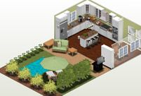 Create Home Designs with FREE online designer Autodesk Homestyler! Absolutely <3 pre planning!