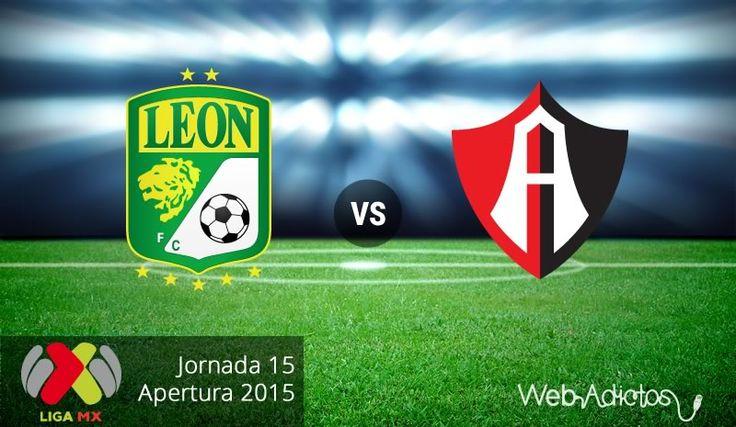 León vs Atlas, Jornada 15 del Apertura 2015 ¡En vivo por internet! - http://webadictos.com/2015/10/31/leon-vs-atlas-apertura-2015/?utm_source=PN&utm_medium=Pinterest&utm_campaign=PN%2Bposts
