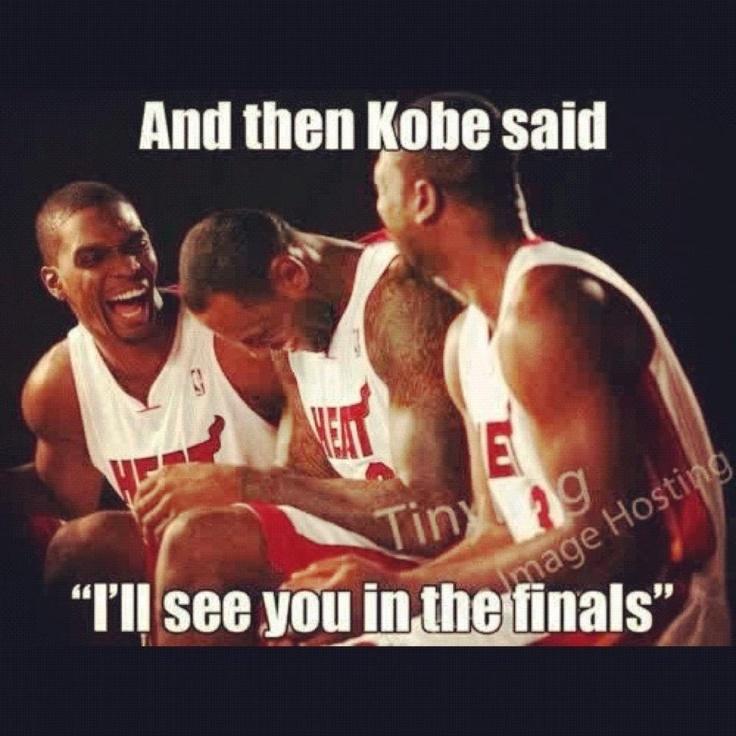 and then Kobe said...