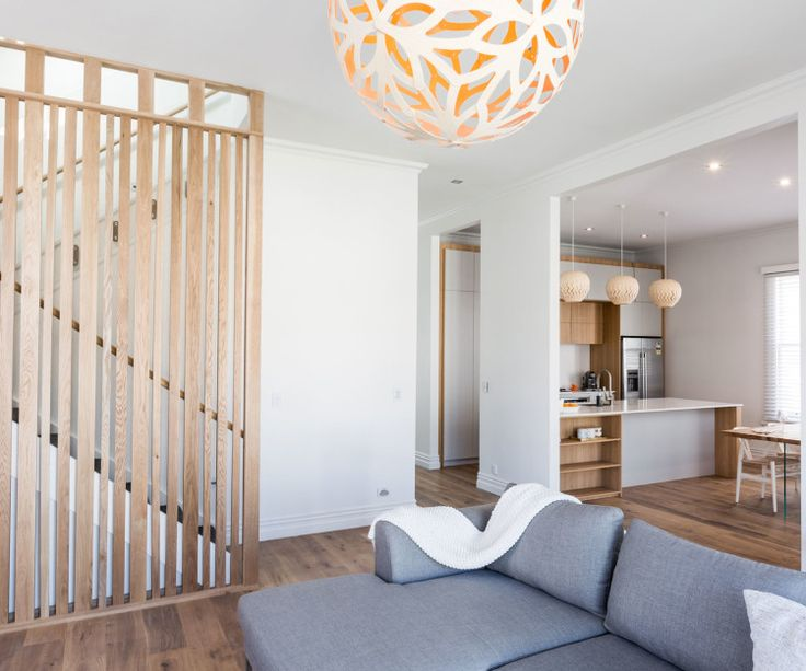 It's easy to see why this light and breezy house won the block NZ! Featuring David Trubridge's Floral and Belle pendant lights