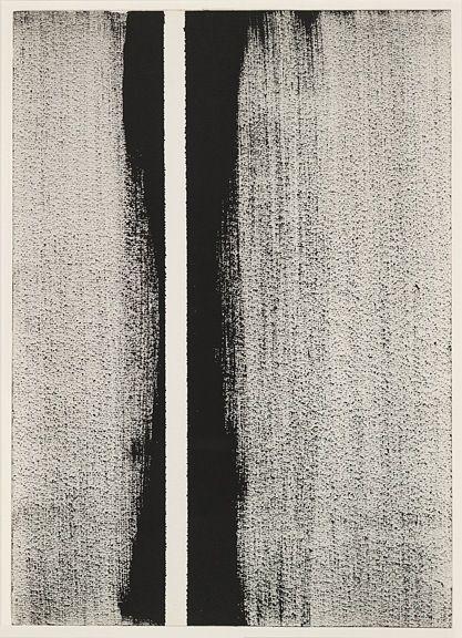 barnett newman | untitled | 1960: