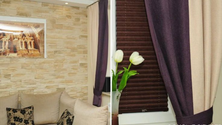 Skrót sesji zdjęciowe - brązowe rolety plisowane.  Domowe Pielesze - udekoruj swój dom