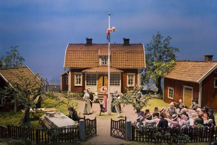 Junibacken-Sagotåget-Emil i Lönneberga, design, Marit Törnqvist