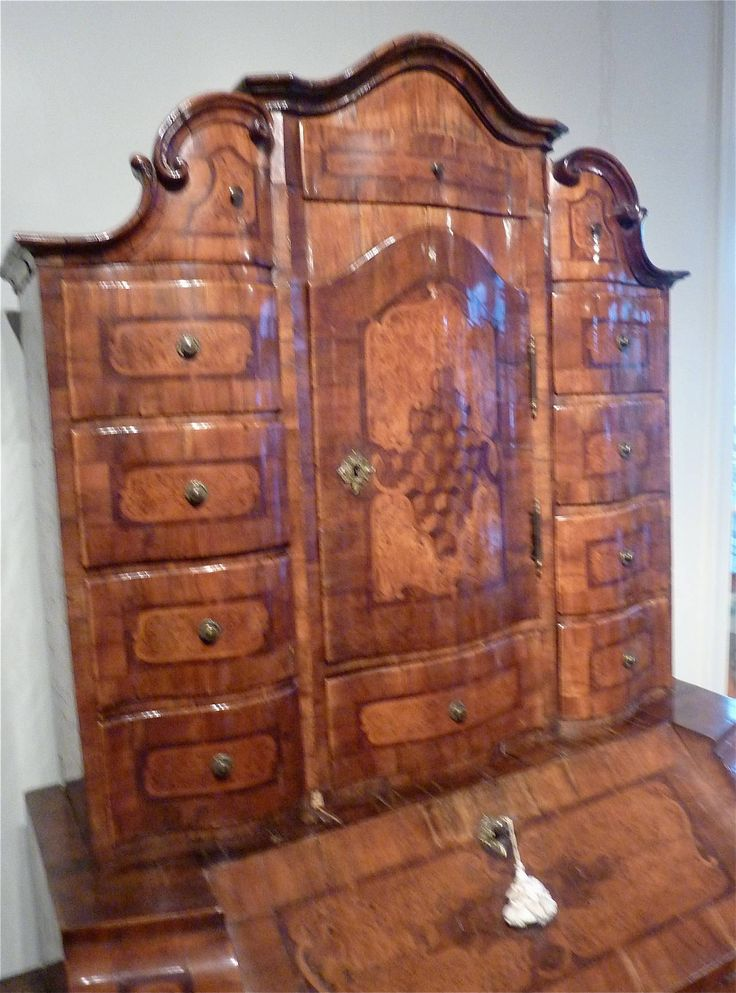 Extraordinary Early 18th Century Bavarian Bureau Cabinet | From a unique collection of antique and modern cabinets at https://www.1stdibs.com/furniture/storage-case-pieces/cabinets/