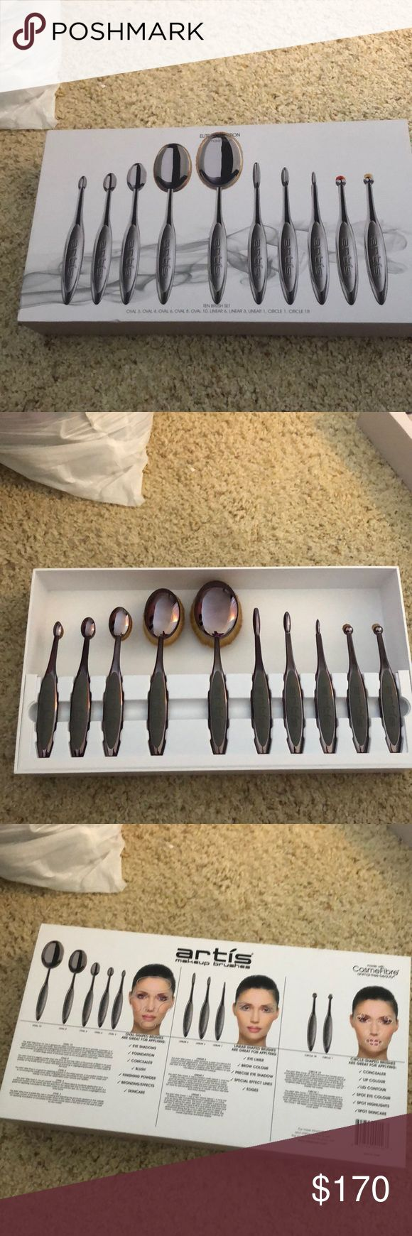 Brand new artis elite collection brush set Never used