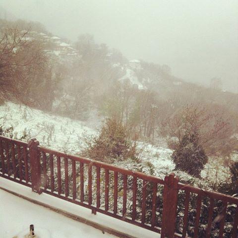 Snow at Lions Nine!!!!!!!