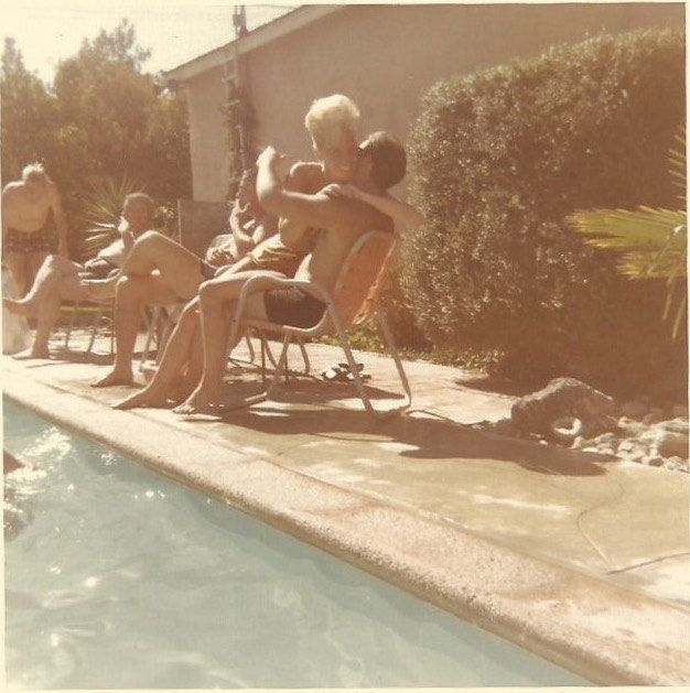 Beehive Bikini Babe - Vintage Color Snapshot - Kodacolor Photo - Swimming Pool - Bikini Two Piece Swimsuit - Sexy Blonde - Found Original by SunshineVintagePhoto on Etsy https://www.etsy.com/listing/467453137/beehive-bikini-babe-vintage-color