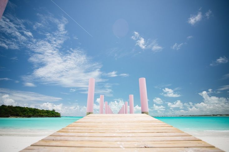 Besides have the wedding, Treasure Cay, Bahamas is such a beautiful place for honeymoon too.