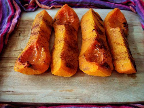 Sweet Oven-Baked Butternut :http://sweetlyradiant.com/sweet-oven-baked-butternut/
