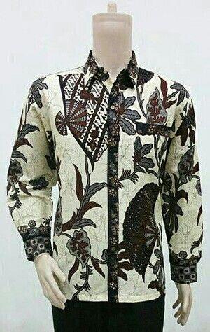 Kemeja batik motif sogan kipas 80000
