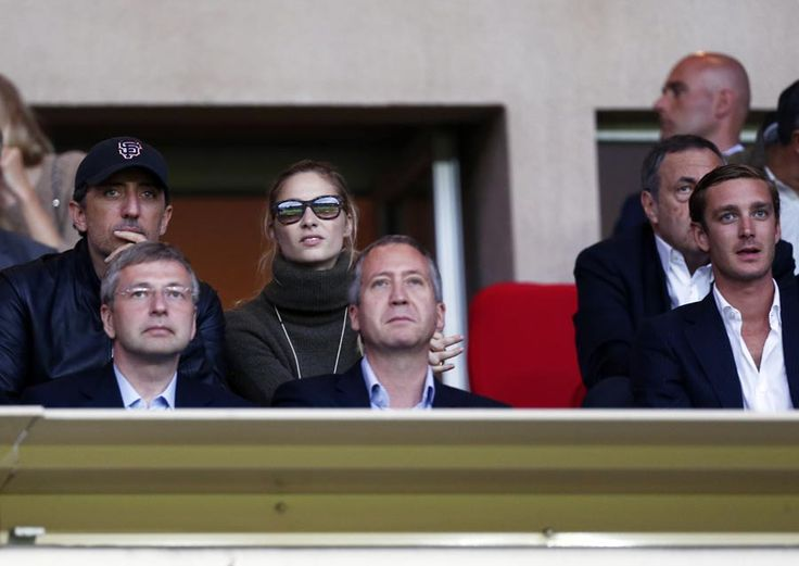 Father-to-be Gad Elmaleh watches football with Charlotte Casiraghi's brother - Photo 1 | Celebrity news in hellomagazine.com