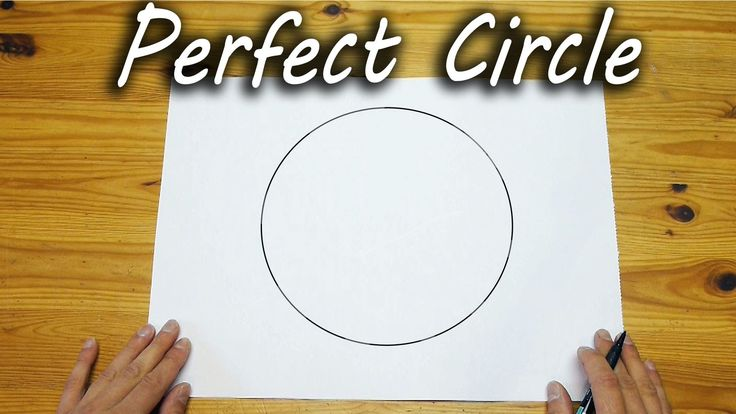 How To Draw A Perfect Circle-FREEHAND