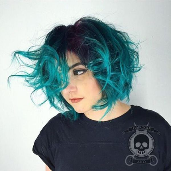 71 green hair colors ideas that you will love