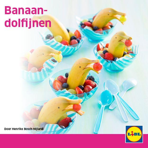 Banaandolfijn #traktatie #backtoschool #Lidl #banaan #dolfijn