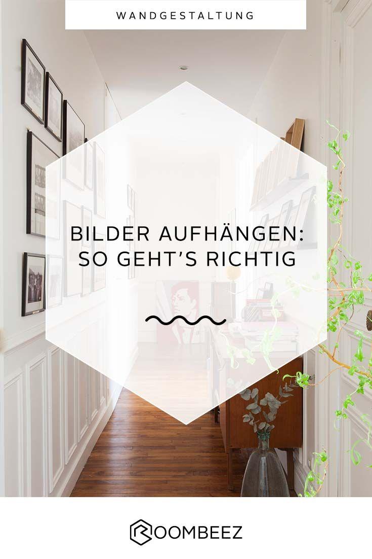 Bilder Richtig Aufhängen Tipps Für Höhe Und Abstand Otto Zierleiste Wand Zimmergestaltung Wandgestaltung