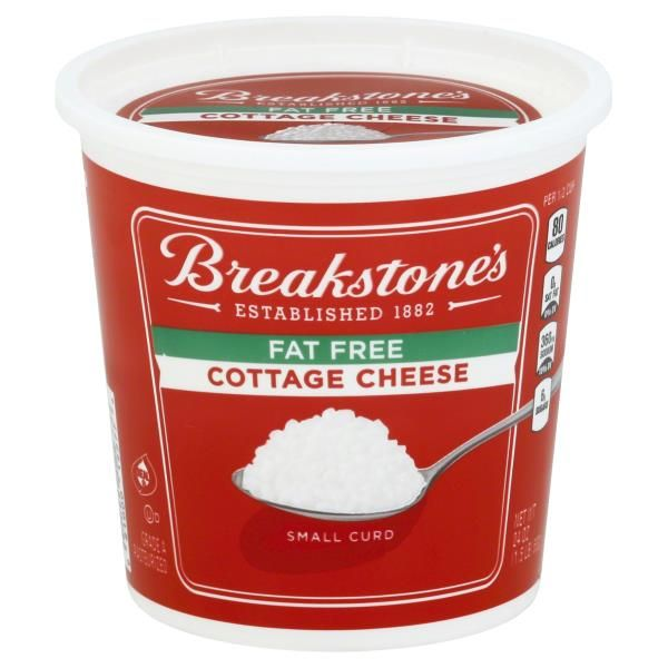 Breakstones Cottage Cheese, Small Curd, Fat Free