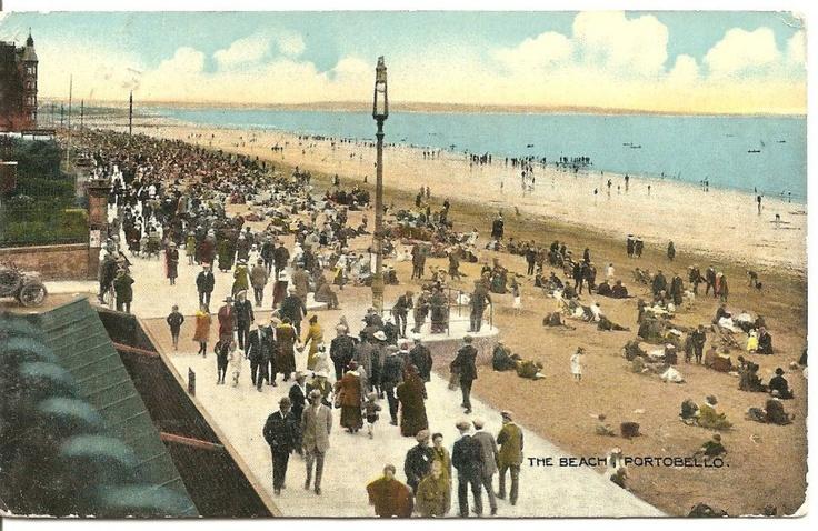 Portobello beach around 1920s? | Scotland - Vintage 1900 ...