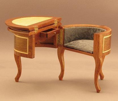 Wooden Desk 7