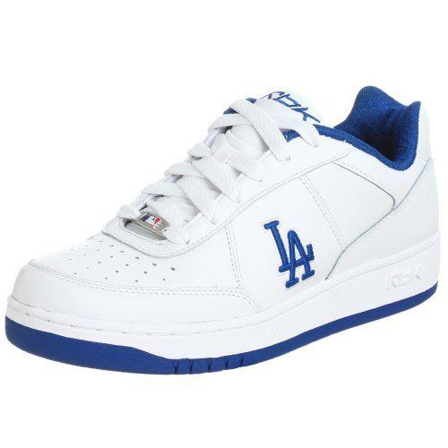 Reebok Men's MLB Dodgers Clubhouse Lining Sneaker  https://allstarsportsfan.com/product/reebok-mens-mlb-dodgers-clubhouse-lining-sneaker/  MLB Team Logo EVA Sockliner