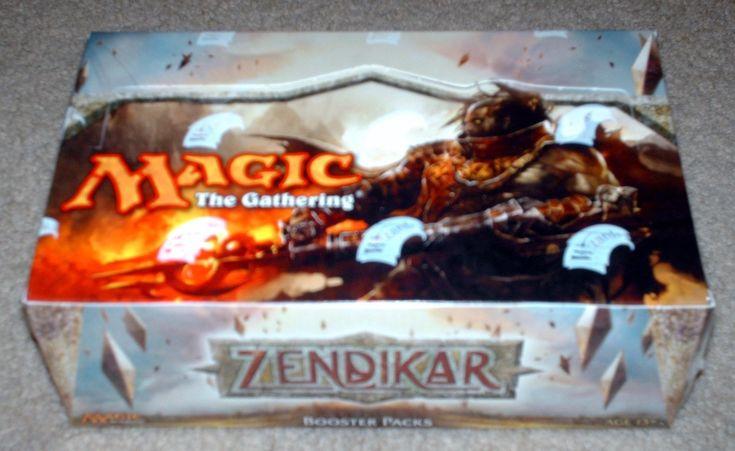 ZENDIKAR Factory Sealed Case Fresh MINT Booster Box MTG Magic English RARE 2009