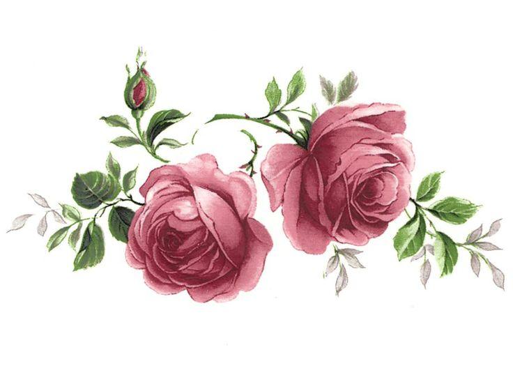 """Sweet pink roses in full bloom. Order # Size # of Decals on Sheet Sheet Price S2JR/1 3-3/4"""" X 2"""" 14 $ 8.50 S2JR/2 2-1/2"""" X 2"""" 20 $ 8.50 S2JR/3 1-5/8"""" X 1-3/8"""" 32 $ 8.50 Ceramic Waterslide Decals Suita"""