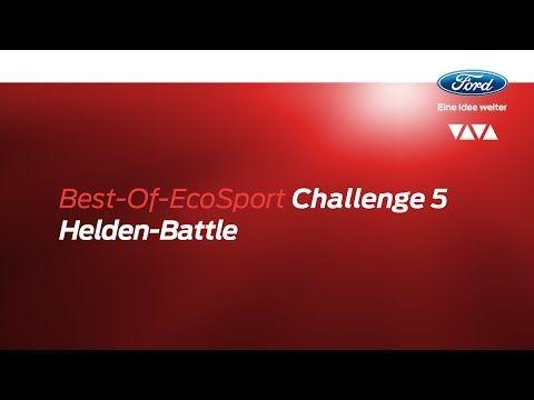 Ford #EcoSportChallenge - Best-Of Video der fünften Challenge: